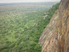 Rock Climbing Photo: The local crag