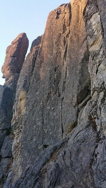 Rock Climbing Photo: Boys who ain't french/skypatrol lead, tried to...