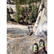 Rock Climbing Photo: crescent arch