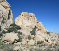 Rock Climbing Photo: The notch is The Breezeway, on the left is South B...