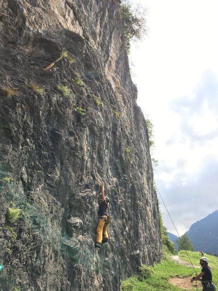 Rock Climbing Photo: Starting Cip e Ciop