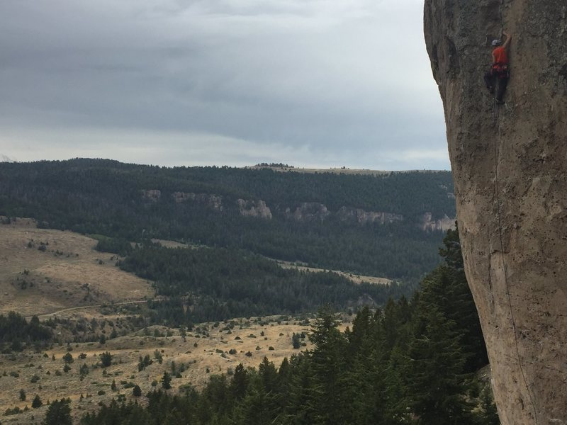 Unknown climber on Number One Enemy (aka Popsicle Sandwich) 5.11a