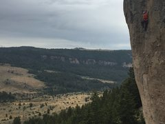 Rock Climbing Photo: Unknown climber on Number One Enemy (aka Popsicle ...