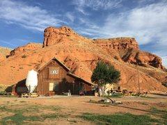 Rock Climbing Photo: Ten Sleep Brewery in all its glory