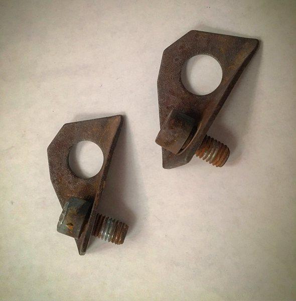 The original anchor bolts.