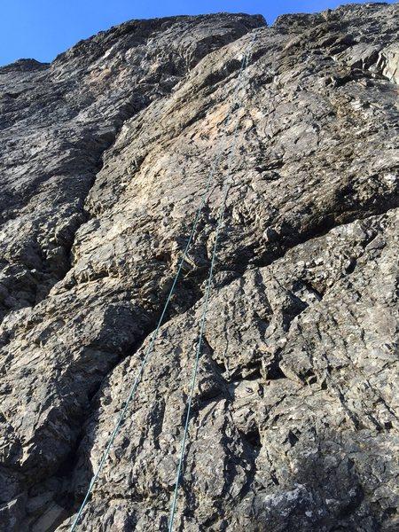 Rock Climbing Photo: Psychologial Crutch
