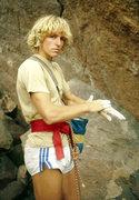 Rock Climbing Photo: Bachar in the 70's