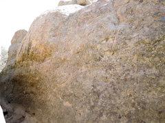 Rock Climbing Photo: Elephant Walk Slab. Around the corner from Brute F...