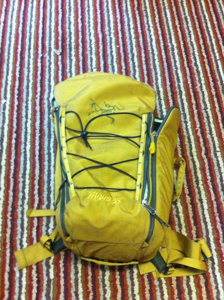 Rock Climbing Photo: Muira 35 L pack