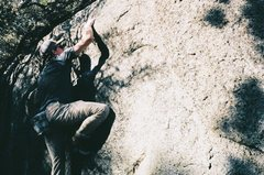 Rock Climbing Photo: The dopest dope you'll ever smoke.