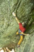 Rock Climbing Photo: devon in the starting chimney