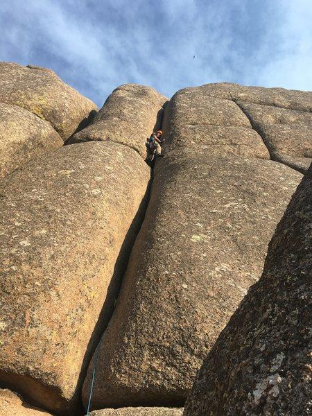 Rock Climbing Photo: Motor #1, Vedauwoo