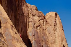 Rock Climbing Photo: Lots of high feet in this area. Word of caution: d...