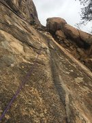 Rock Climbing Photo: Great way to access routes starting on the not so ...