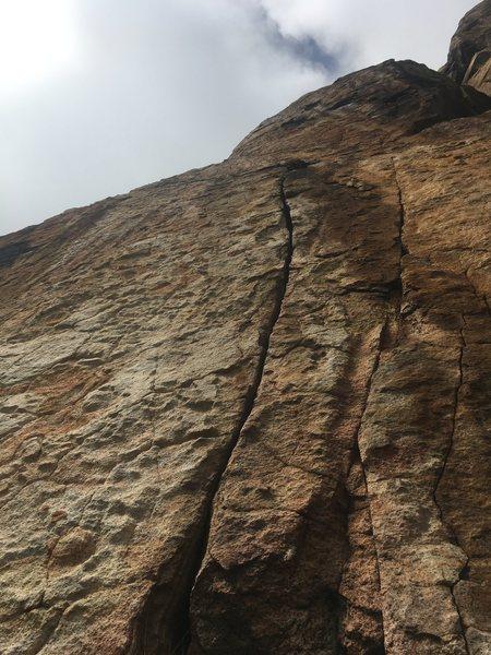 Rock Climbing Photo: Splitter Braj!!!1!