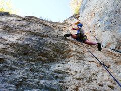 Rock Climbing Photo: Climber on Brainfart.