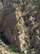 Rock Climbing Photo: Citadel from the top of West Face of Lambda showin...