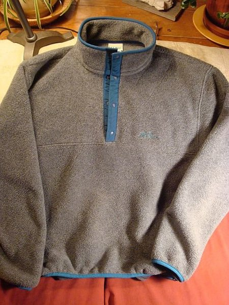 300 Weight LL Bean Snap T Pullover.