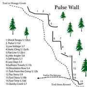 Rock Climbing Photo: Here is an updated Pulse Map. I'm trying to go...