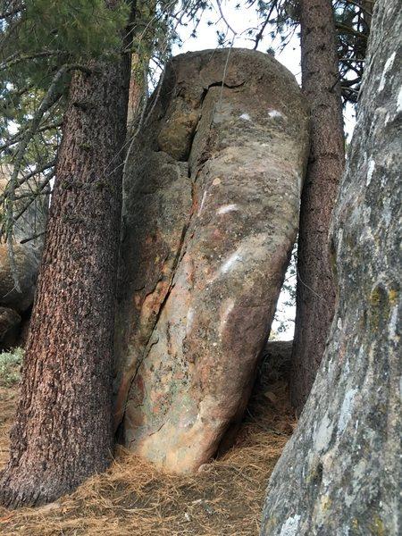 Rock Climbing Photo: Squeezes