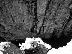 Rock Climbing Photo: free mont canyon