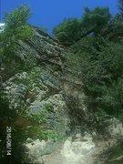 Rock Climbing Photo: About a 70'climb decent hand holds