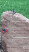 Rock Climbing Photo: Those 2 have no fear.