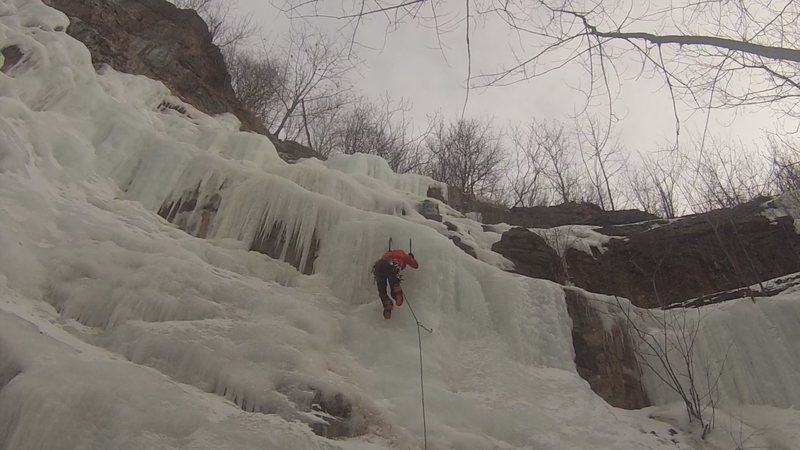 Rock Climbing Photo: Ice climbing at Université de Montréal