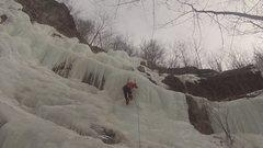 Rock Climbing Photo: Ice climbing at Université de Montréal