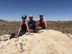 Rock Climbing Photo: Top of Lizard's Hangout