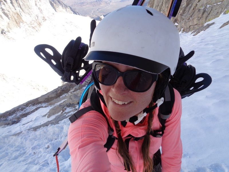 Rock Climbing Photo: Climbing up the mountaineers route with Anthony Ev...