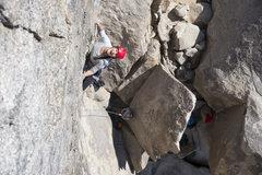 Rock Climbing Photo: Sveta the Russian Princess cruising ...