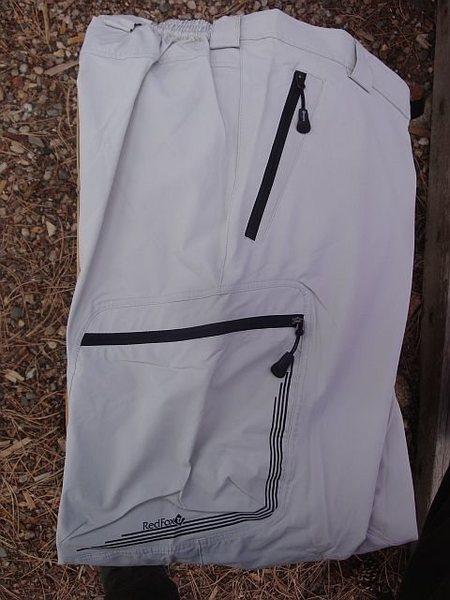 Zip closure pockets