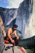 Rock Climbing Photo: Yosemite 1973