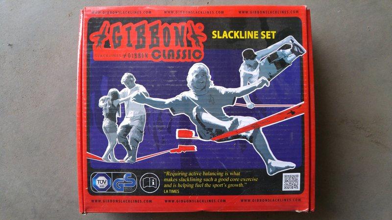 Rock Climbing Photo: Slackline 3