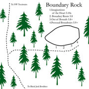 Rock Climbing Photo: I give you the updated Boundary Rock.