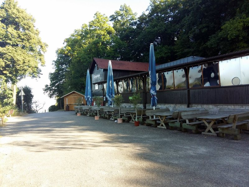 Saengerheim, stop by for a beer after climbing