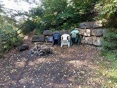 Rock Climbing Photo: There's even a fire pit off to the side near R...