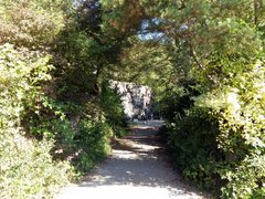 Rock Climbing Photo: one of two entrances to the crag, this coming from...