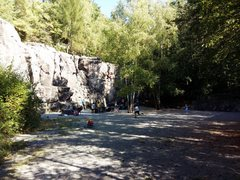 Rock Climbing Photo: Another view of the crag