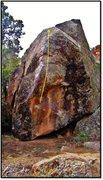 Rock Climbing Photo: Ensoul beta.