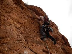 Rock Climbing Photo: Hannah chez les grands L8