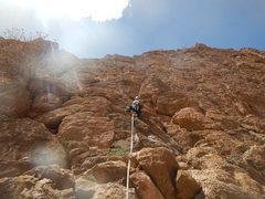 Rock Climbing Photo: Hannah chez les grands L4