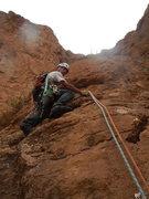 Rock Climbing Photo: Hannah chez les grands L5