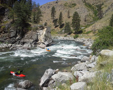 Rock Climbing Photo: Staircase Rapid, South Fork of the Payette River, ...