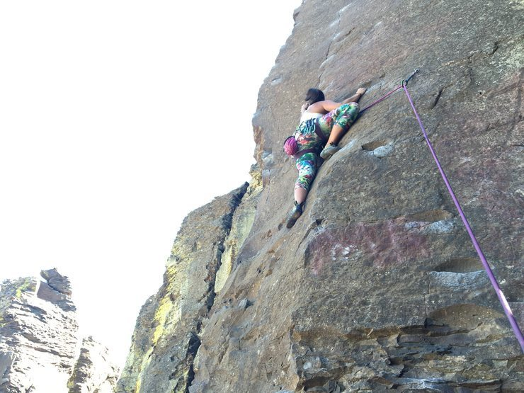 Rock Climbing Photo: Frenchman's Coulee