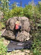 Rock Climbing Photo: Kestrel sending