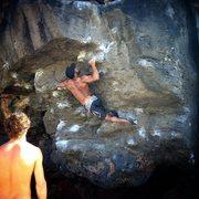 Rock Climbing Photo: Not the best beta