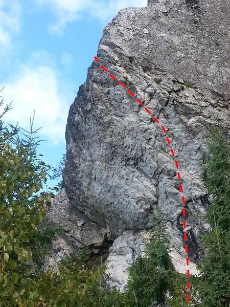 Rock Climbing Photo: Les extrémistes de droite 5.13