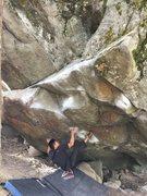 Rock Climbing Photo: Raging Bull send